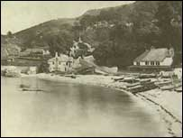 The Glen at Babbacombe. site of the murder.